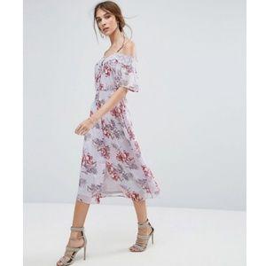 NWT ASOS | Floral Midi Dress
